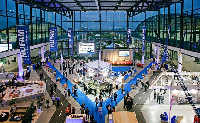 Are you a Karlsruher Messe- und Kongress GmbH exhibitor? Or are you interested in participating in a trade fair? An innovative region with high purchasing power awaits you.