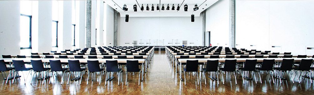 Saal im Messe Konferenz Center