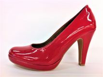 roter Lackpumps
